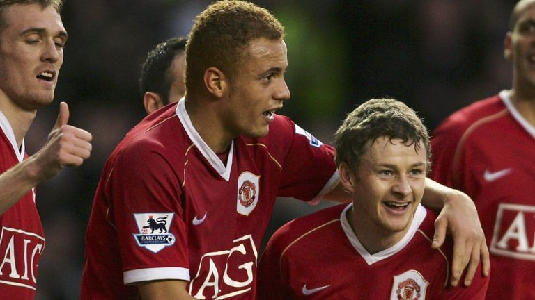Wes Brown spent 11 years with Ole Gunnar Solskjaer at Manchester United