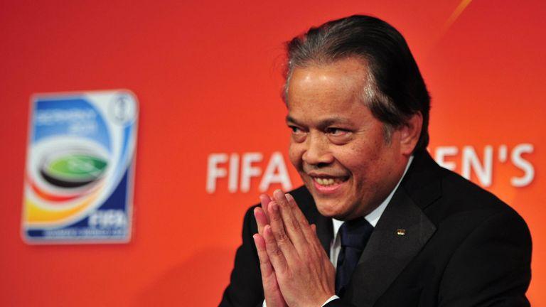 CAS has overturned FIFA's ban on Thai football boss Worawi Makudi