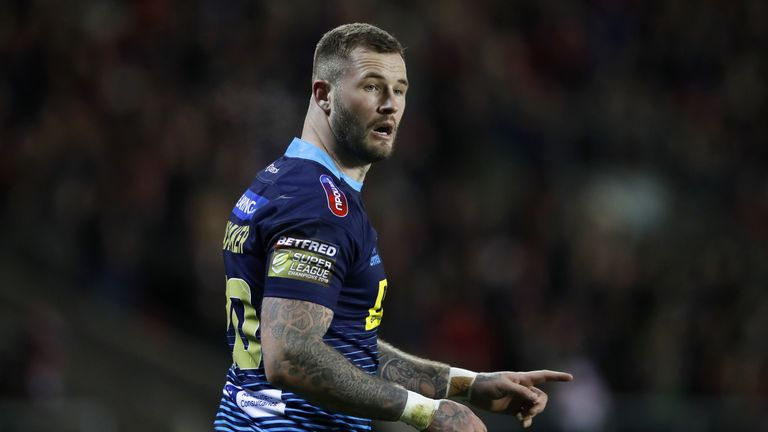 Zak Hardaker will look to guide Wigan Warriors to World Club Challenge glory against Sydney Roosters