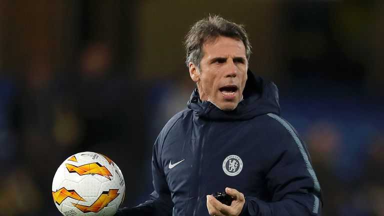 Gianfranco Zola says everyone at Chelsea is frustrated by their inconsistent form