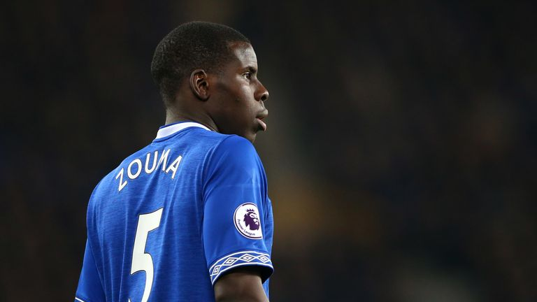 Kurt Zouma was shown a red card after the final whistle against Watford
