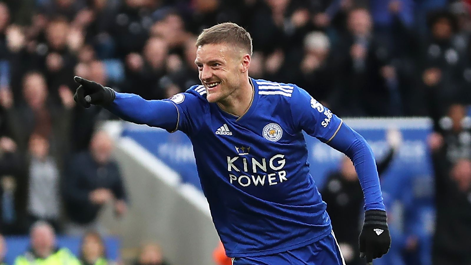 Leicester 3-1 Fulham: Jamie Vardy reaches century of Foxes ...