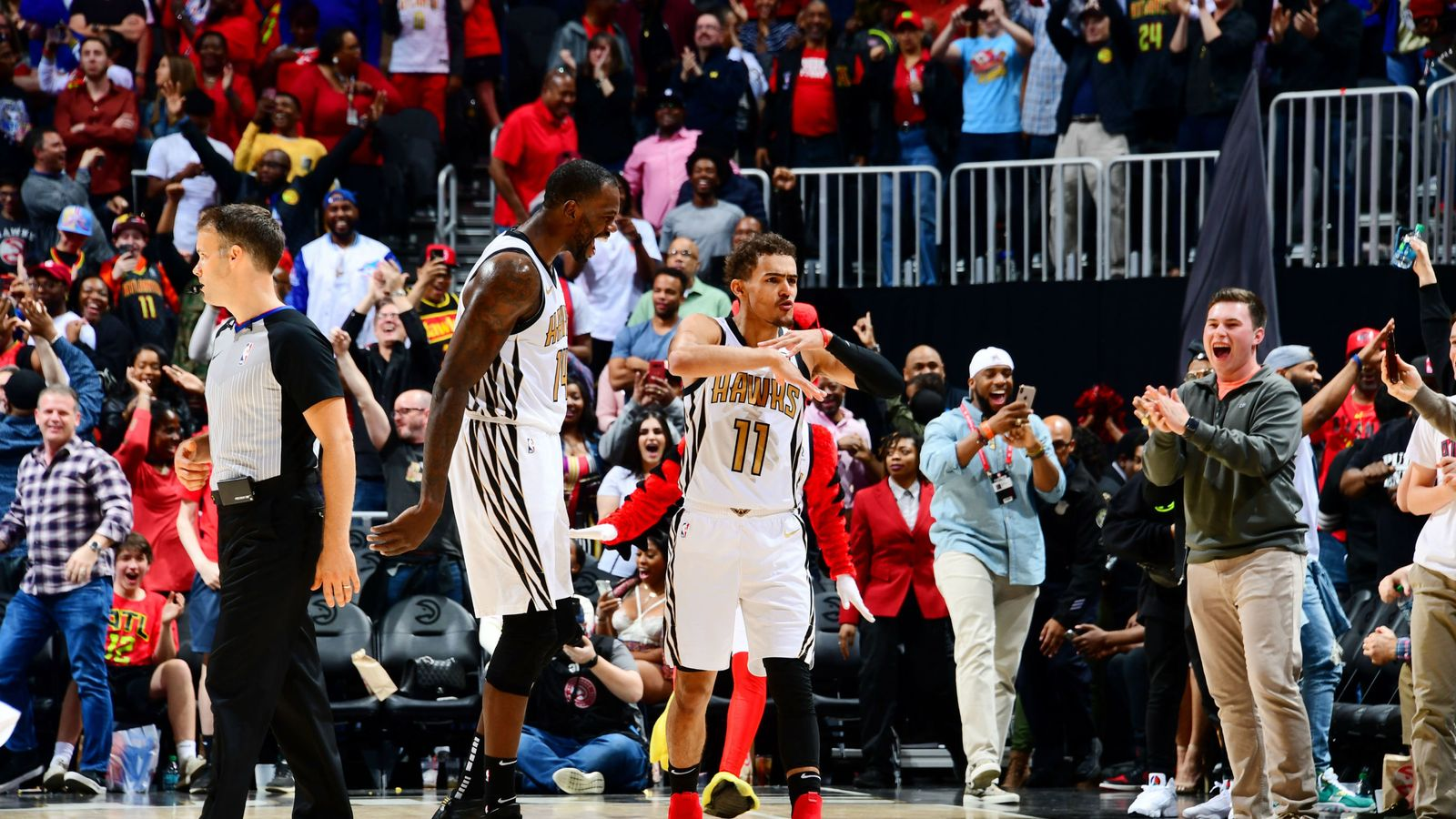 Trae Young hits game-winning floater as Atlanta Hawks beat ...