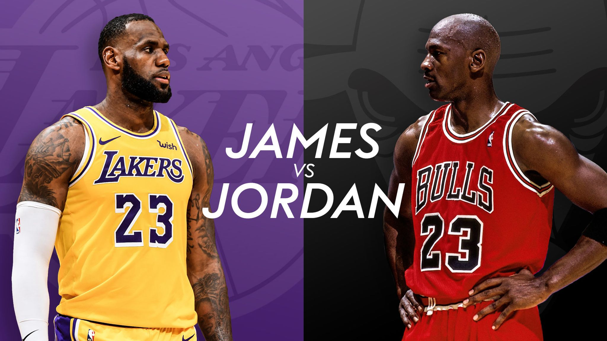 789fd5bf92e LeBron James vs Michael Jordan  Have your say on the NBA s greatest debate