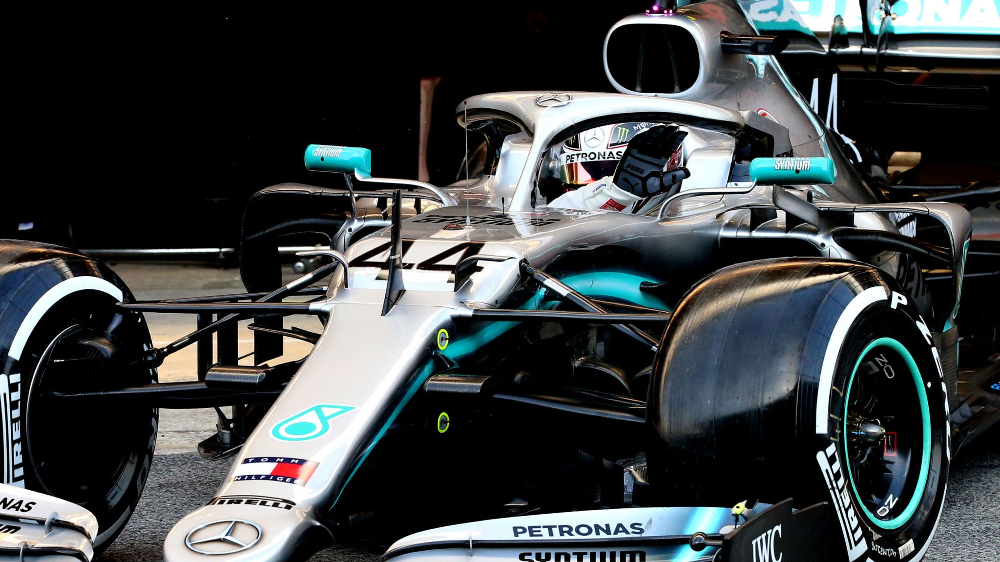 Lewis Hamilton F1 Mercedes Wallpaper
