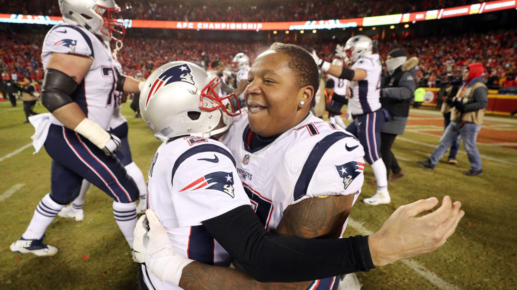 quality design 913aa 40fa9 Trent Brown to sign with Oakland Raiders in NFL free agency ...