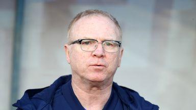 McLeish: Scotland were nervous