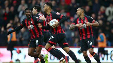 Bournemouth drew 2-2 with Newcastle