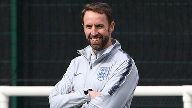 'Youthful England down to Southgate'