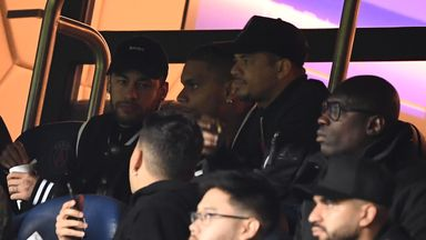 Neymar charged over United rant