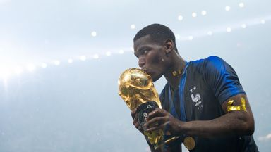 Pogba buys France team World Cup rings