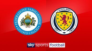 Watch San Marino vs Scotland on Sky Sports Football and Main Event at 5pm on Sunday
