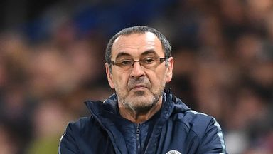 fifa live scores - Maurizio Sarri baffled by 'strange' shift in Chelsea mentality