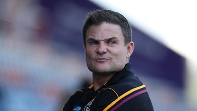 Nothing has changed for Huddersfield head coach Simon Woolford