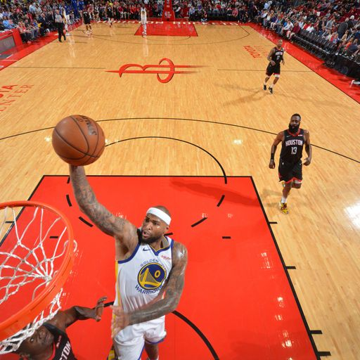 Cousins key as Warriors end Rockets run