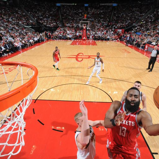 James Harden Posts Triple-double In Houston Rockets Game 2