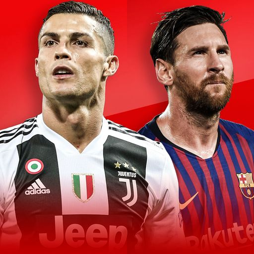 Messi shines but Ronaldo is CL king
