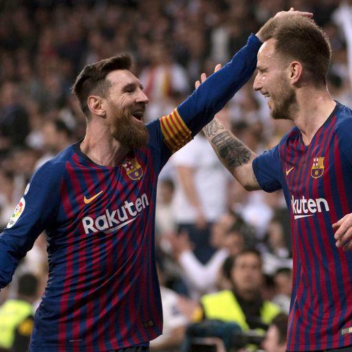 Barca triumph at Real again