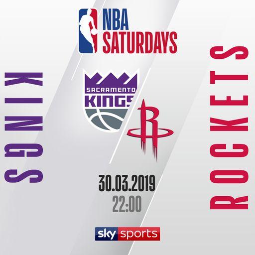 Kings @ Rockets free on Sky Sports