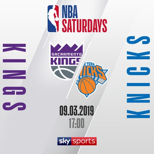 Kings @ Knicks free on Sky Sports