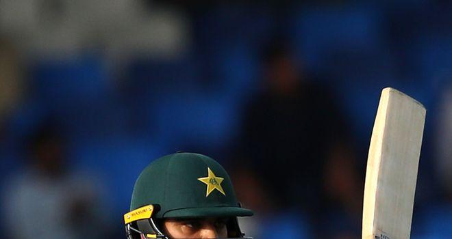 Haris Sohail hit his first ODI hundred for Pakistan