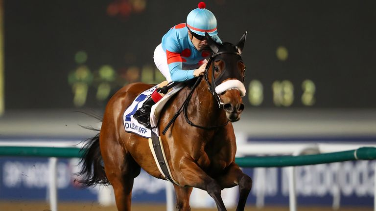 Christophe Lemaire riding Almond Eye