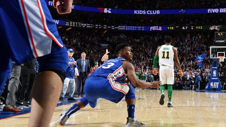 c29b9f4ee78f Jimmy Butler hits clutch jumper to seal Philadelphia 76ers win over Boston  Celtics