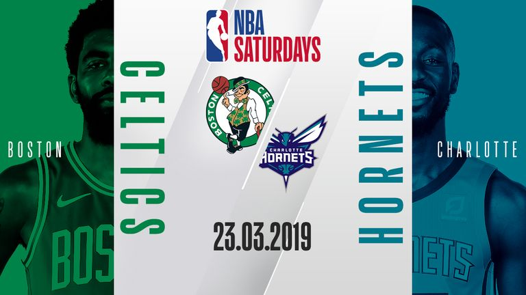 The Boston Celtics visit the Charlotte Hornets on NBA Saturdays and you can watch the game live via a free live stream on skysports.com, the Sky Sports mobile app and Sky Sports' Youtube channel