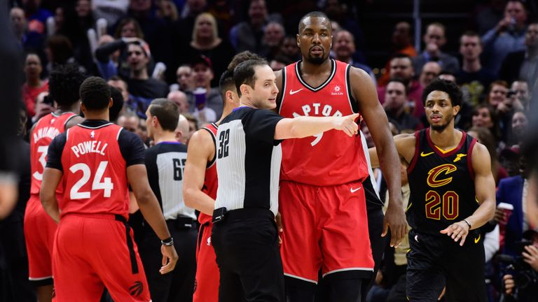 Serge Ibaka is ejected after his brawl with Marquese Chriss
