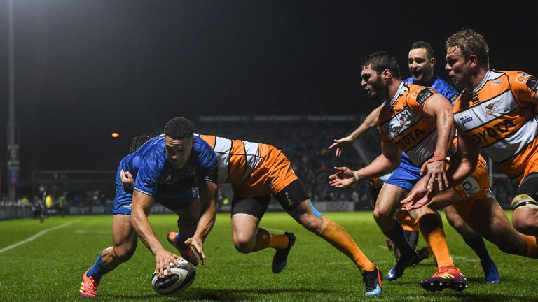 Adam Byrne was one of three try scorers as Leinster recorded victory over the Cheetahs on Friday