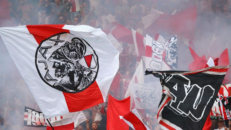 UEFA have charged Ajax for fan behaviour for the fourth time this season