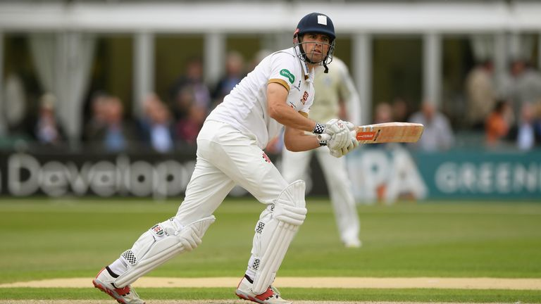 Alastair Cook scores century in Essex's County Championship warm-up