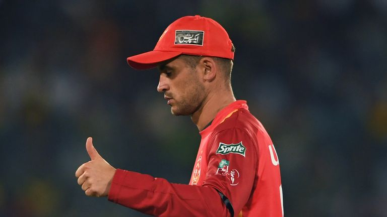 Hales played for Islamabad United in the Pakistan Super League