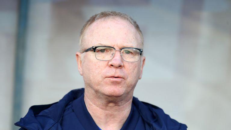 Alex McLeish's Scotland beat San Marino 2-0 on Sunday