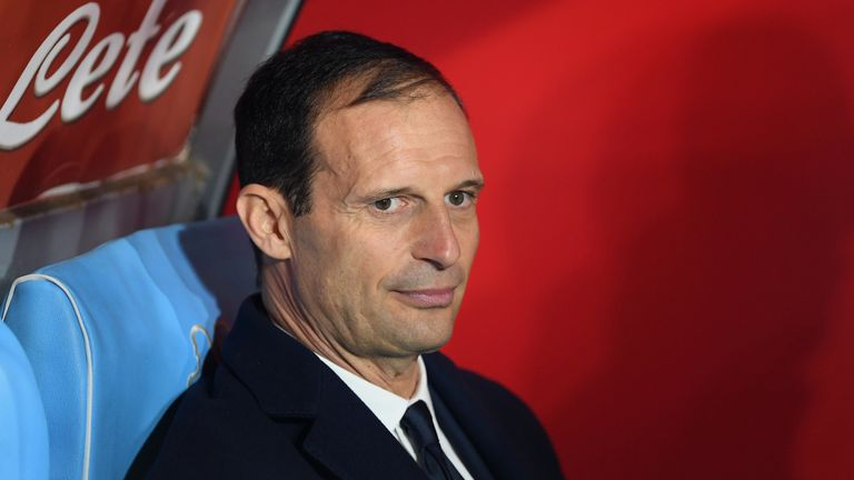 Juventus boss Massimiliano Allegri will leave the club at the end of this season