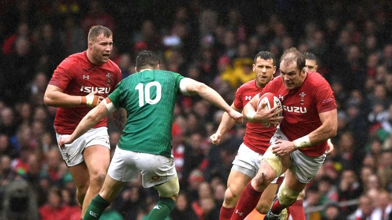 England vs Wales: Alun Wyn Jones to become Wales' most-capped player