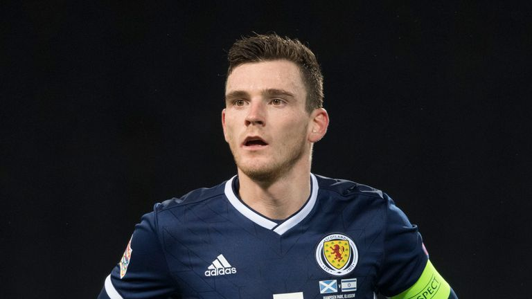 Andrew Robertson will be available to face San Marino