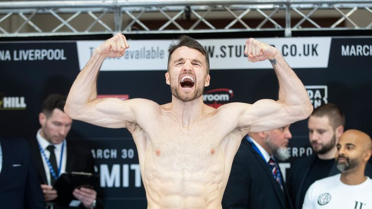 Anthony Fowler ahead of his super welterweight clash with Scott Fitzgerald