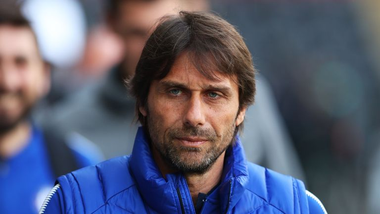 Antonio Conte was sacked by Chelsea after winning last season's FA Cup
