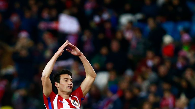 Former Atletico Madrid midfielder Nicolas Gaitan has joined MLS side Chicago Fire