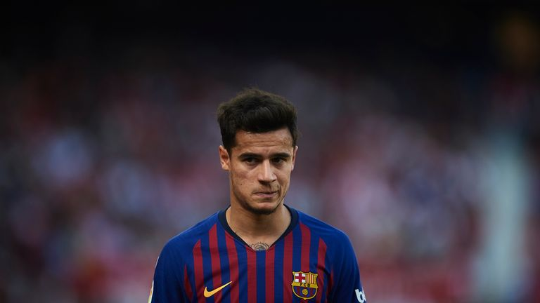 Barcelona need Coutinho at his best - Pique defends struggling star