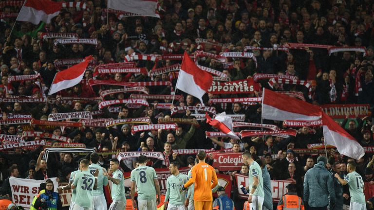 Bayern Munich frustrated Liverpool in the Champions League last 16 first leg