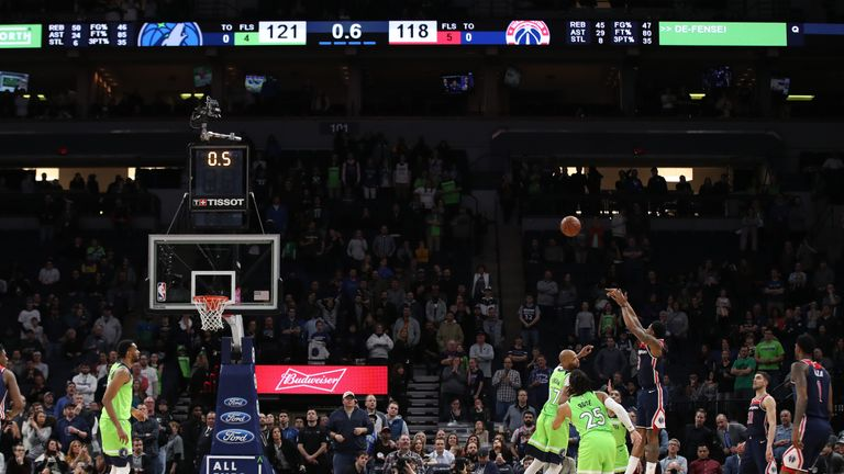 Bradley Beal forces overtime with buzzer-beater in Washington