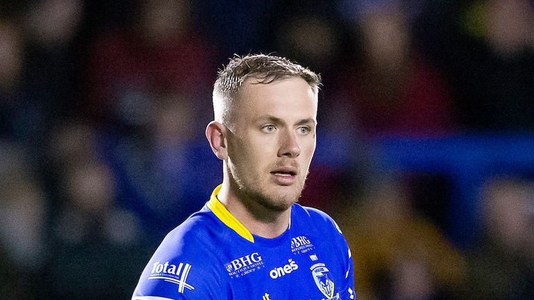 Warrington's Ben Currie wants to clinch an elusive winners' medal