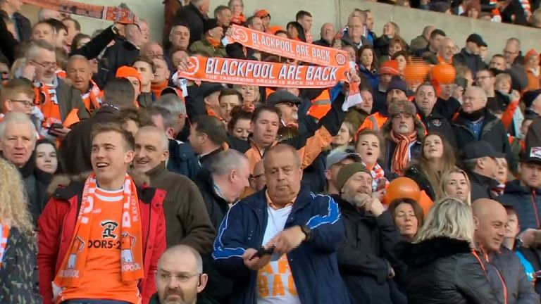 Blackpool are still fresh from some good news off-the-field