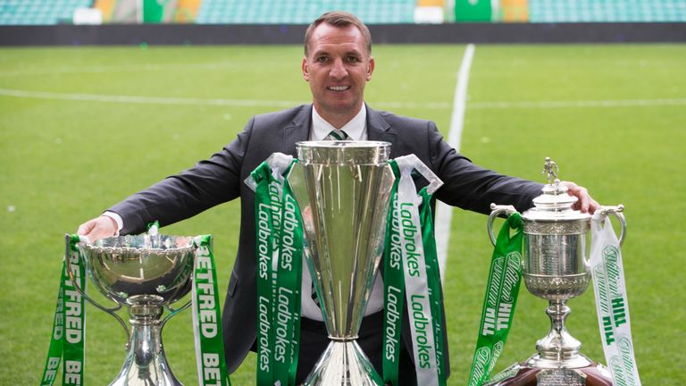 Rodgers enjoyed huge success at Celtic during his two-and-a-half seasons