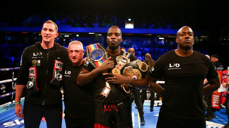 Briton Lawrence Okolie hopes to mixing in the same company within a year