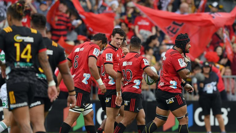 The Canterbury Crusaders are based in Christchurch where 49 people were killed in a terrorist attack on Friday