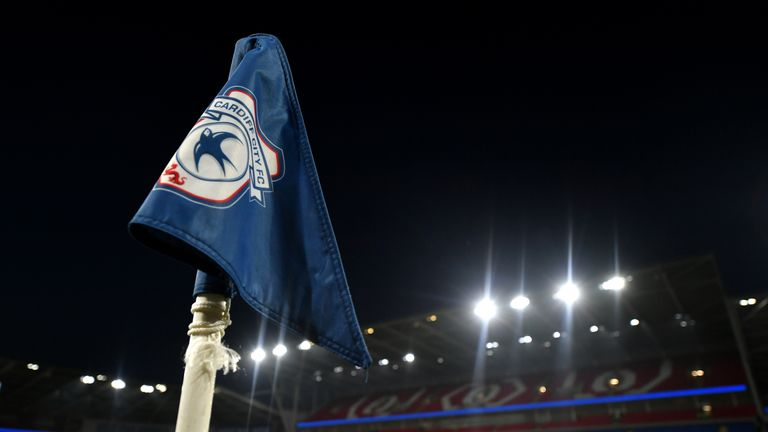 The incident happened during Cardiff's match with Man Utd on December 22