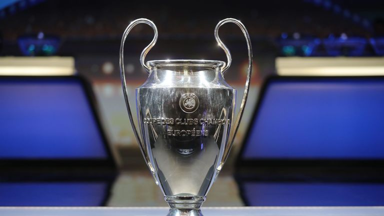 Who will get their hands on the Champions League trophy?